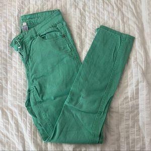 3/$15 - Vanilla Star Green skinny jeans